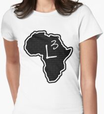 The Haplogroup in You - L3 Womens Fitted T-Shirt