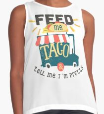 Feed Me Tago And Tell Me I'm Pretty T-Shirt Contrast Tank