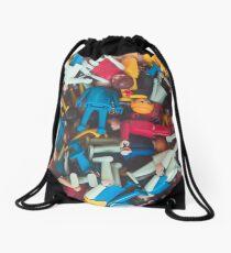 Toy Playmobil Figures Drawstring Bag