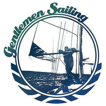 Gentlemen Sailing by craftyordie