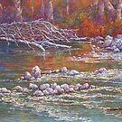 'Goulburn Riverbank, Seymour' by Helen Miles