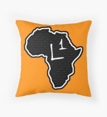 The Haplogroup in You - L1 Throw Pillow