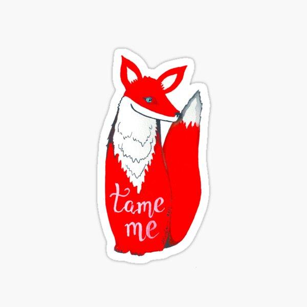 Fantastic Mr. Fox, Tame Me, Fuchs, Kosharek Kunst, der kleine Prinz Sticker