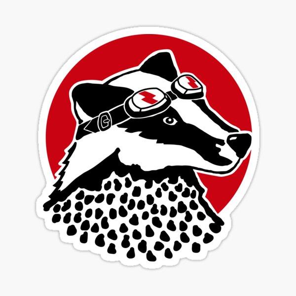 Badger - Original Sticker