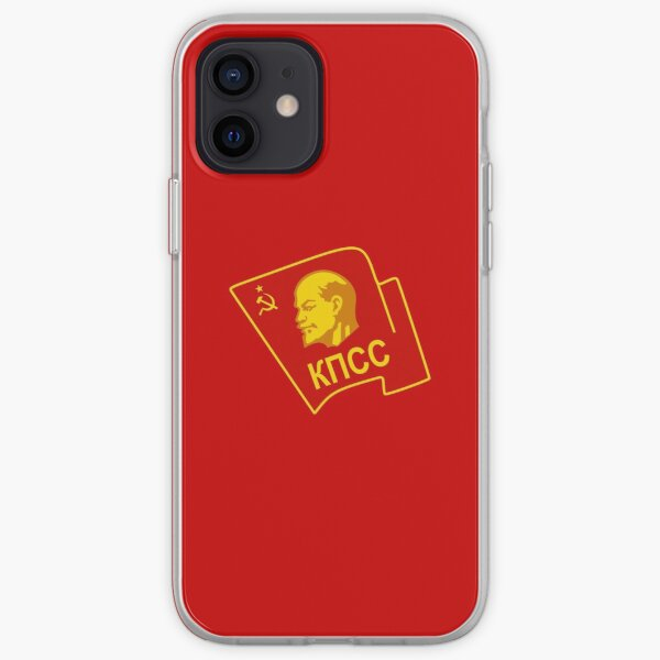 Communist Party of the Soviet Union CPSU iPhone Soft Case