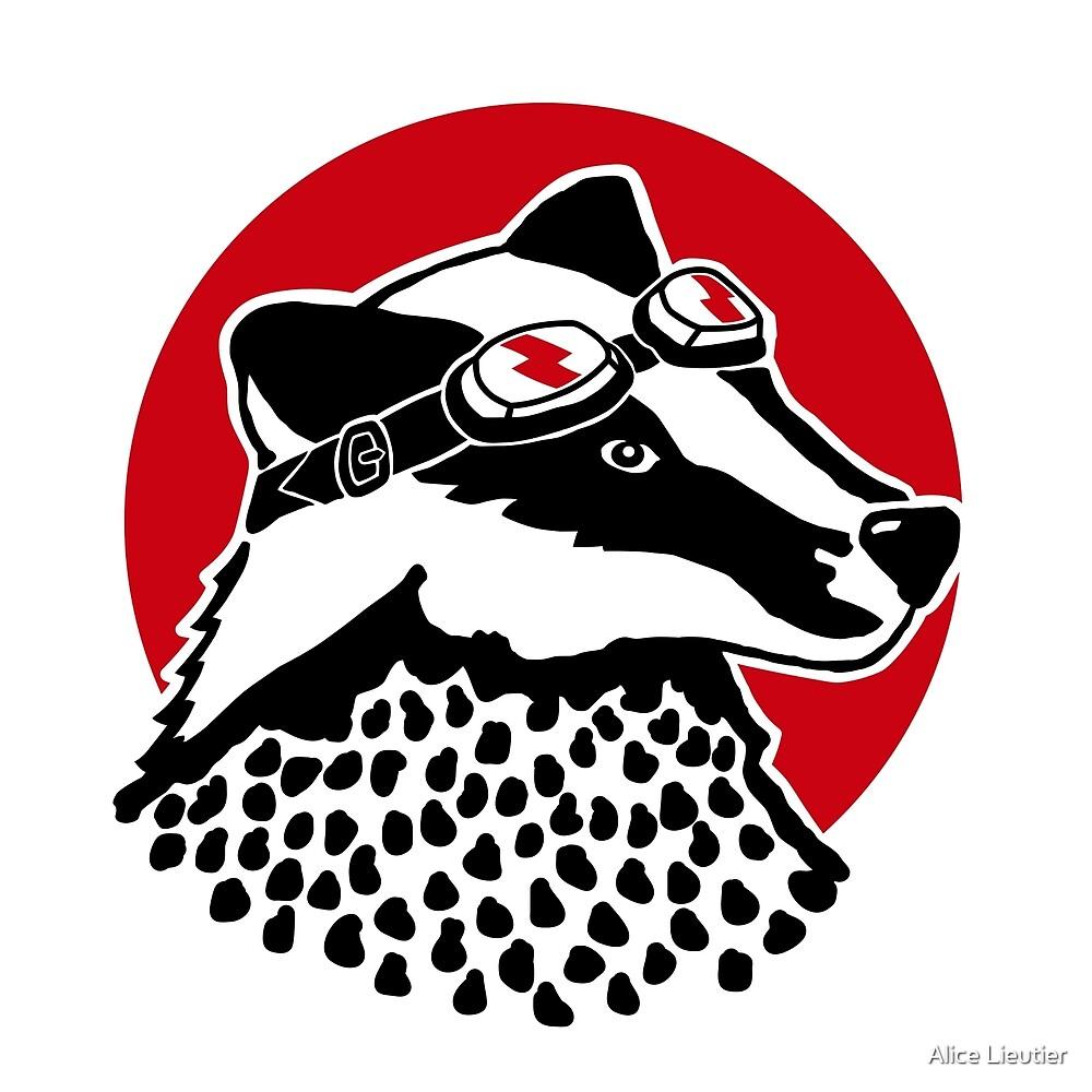 Badger - Original by Alice Lieutier