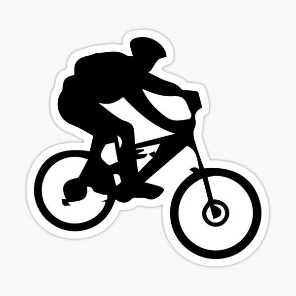 Free Rider logo Pegatina