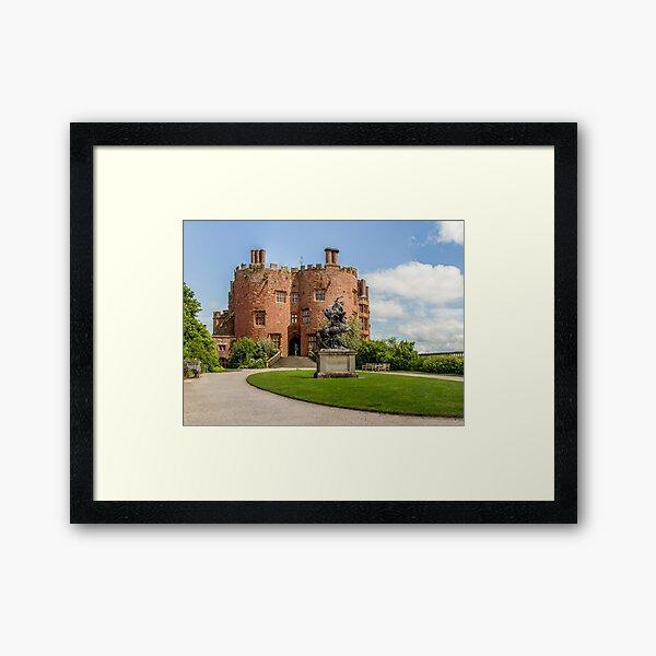 Powys Castle Framed Art Print