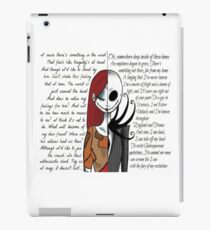 Nightmare Before Christmas iPad Case/Skin