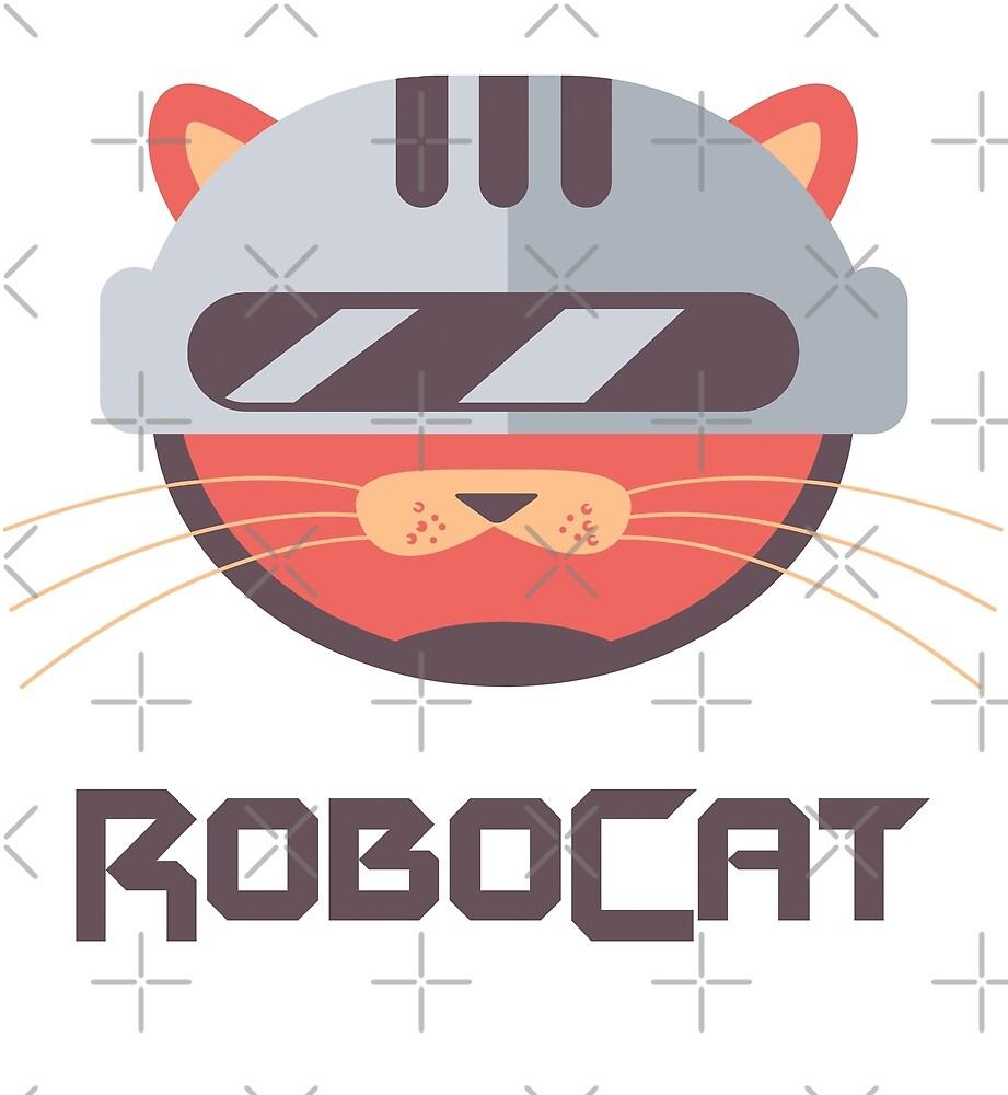 Robo Cat by Digital50