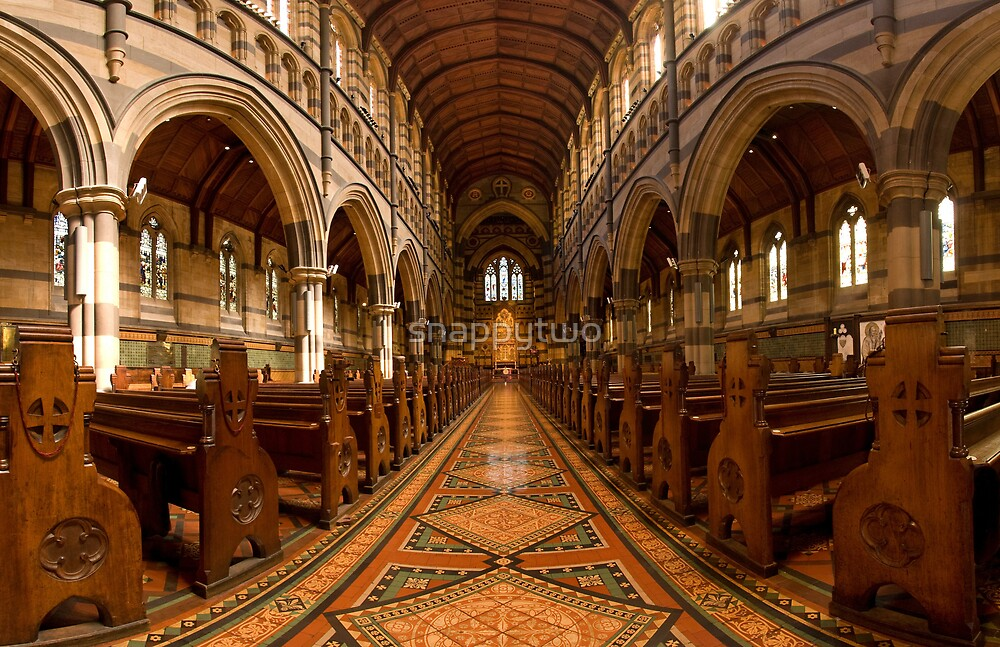 St Paul's Melbourne by snappytwo