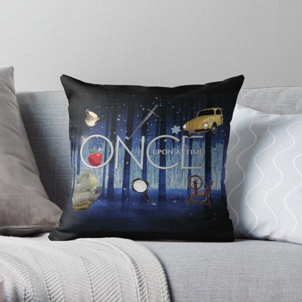 ONCE UPON A TIME new! Throw Pillow