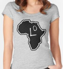 The Haplogroup in You - L0 Women's Fitted Scoop T-Shirt