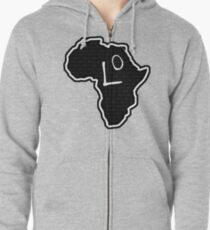 The Haplogroup in You - L0 Zipped Hoodie