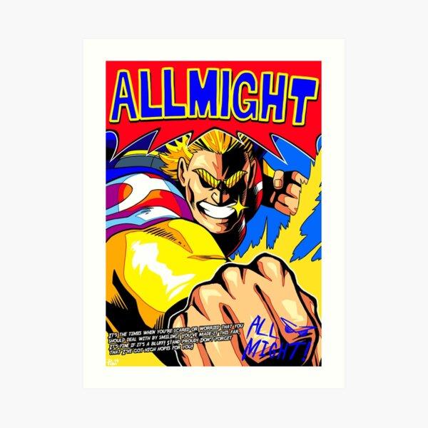 Affiche de tous les anime (avec citation + signature) Impression artistique