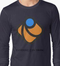 Everyone can draw Long Sleeve T-Shirt