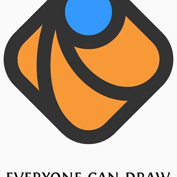 Everyone can draw by DmitryBaranovsk