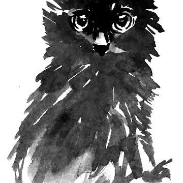 tough cat by pechane