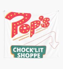 Pop's Chock'Lit Shop Wall Tapestry