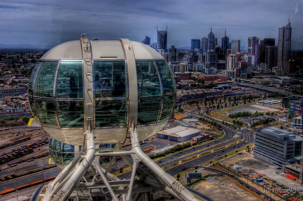 Eye View Melbourne by JohnArnold