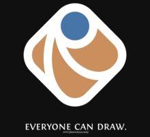 Everyone can draw (black)
