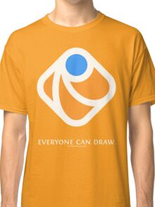 Everyone can draw (black) Classic T-Shirt