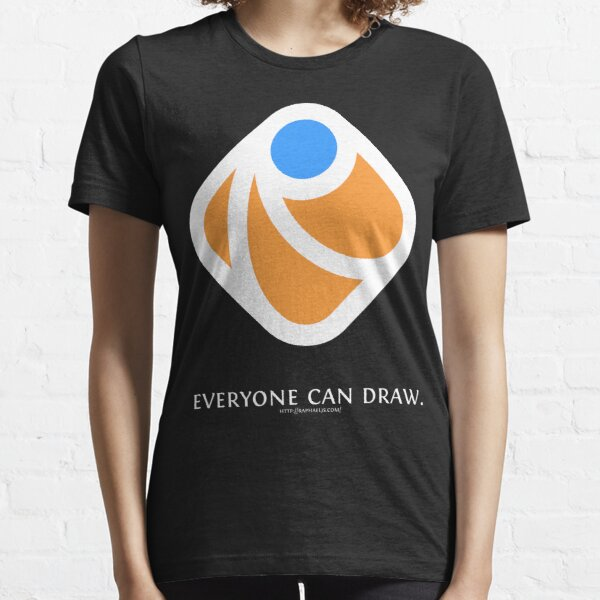 Everyone can draw (black) Essential T-Shirt