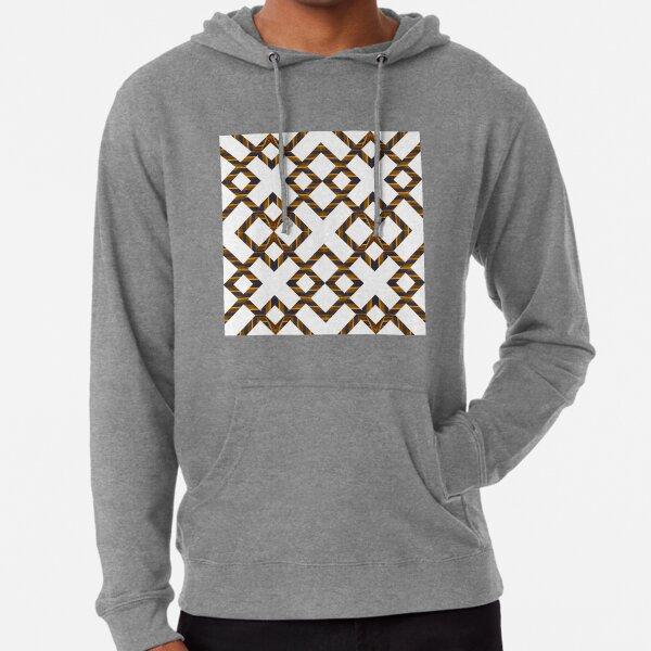 Ornament, decor, tracery, garniture, pattern, design, weave Lightweight Hoodie