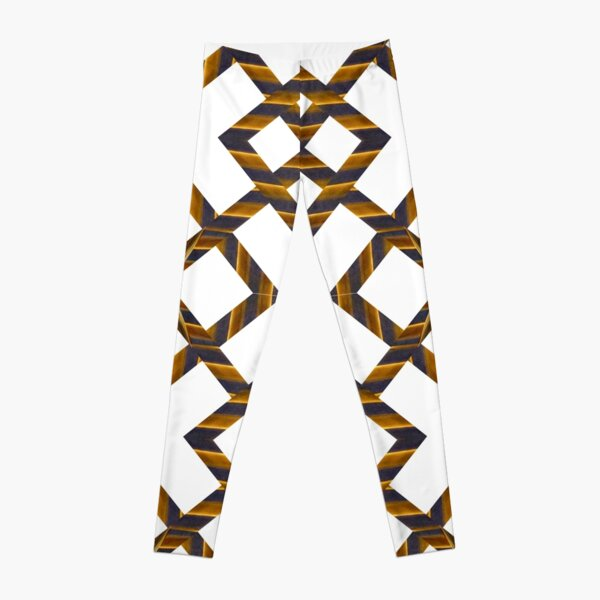 Ornament, decor, tracery, garniture, pattern, design, weave Leggings