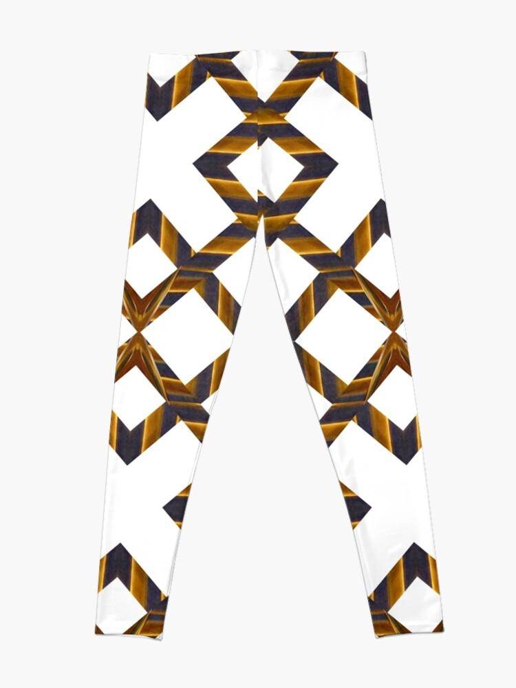 Alternate view of Ornament, decor, tracery, garniture, pattern, design, weave Leggings