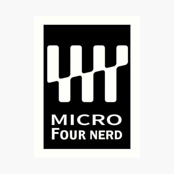 Micro four nerds Art Print