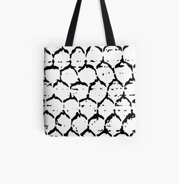 Stones Allover-Print Tote Bag