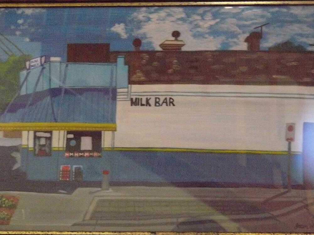 Hawthorn Milk Bar by Joan Wild