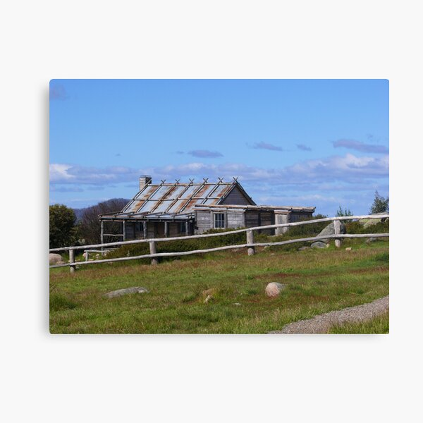 Craig's Hut Canvas Print