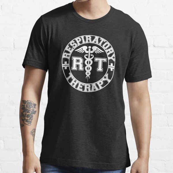 Respiratory Therapy White RT Logo Essential T-Shirt