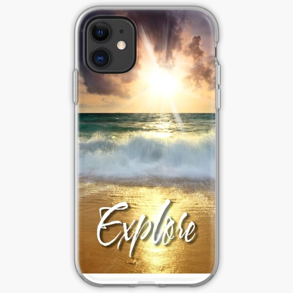 Dream Explore Discover - Give Back to Nature  iPhone Soft Case