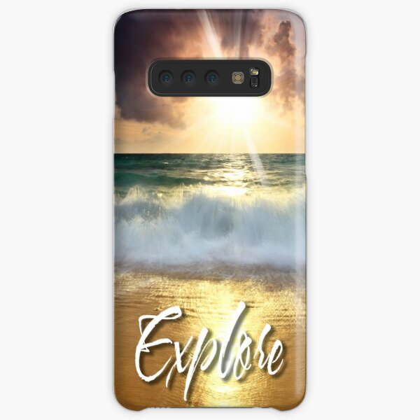 Dream Explore Discover - Give Back to Nature  Samsung Galaxy Snap Case