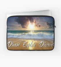 Dream Explore Discover - Give Back to Nature  Laptop Sleeve