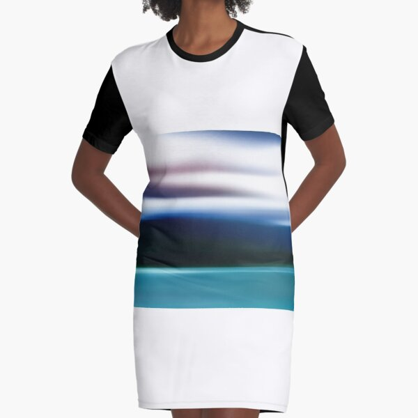 The Mountains in Tasmania... Graphic T-Shirt Dress