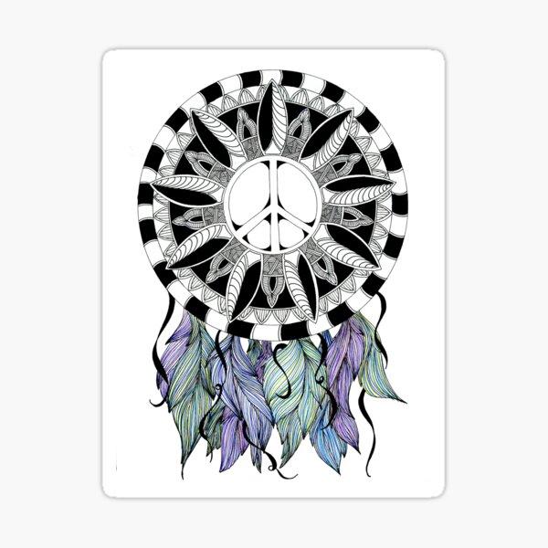 Catch Peace Sticker