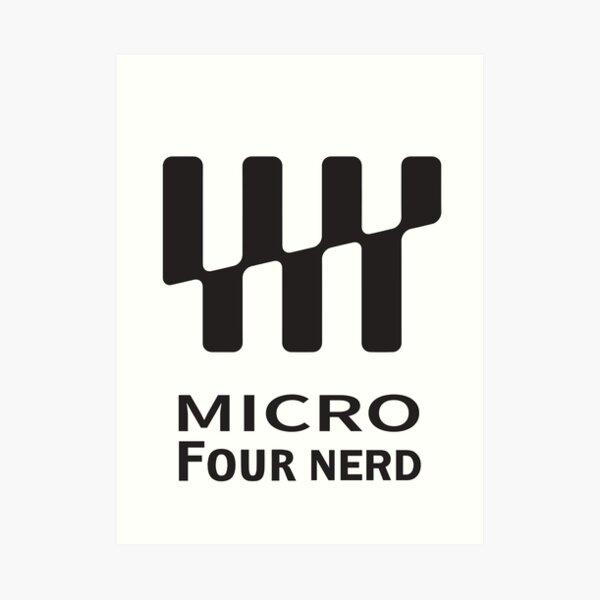 Micro four nerd Art Print