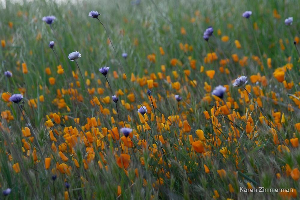 Flower Fever by Karen Zimmerman
