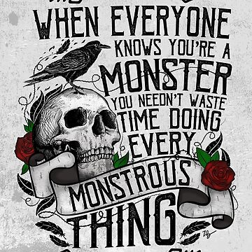 SIX OF CROWS | 'Every Mounstrous Thing...' by CuteCrazies
