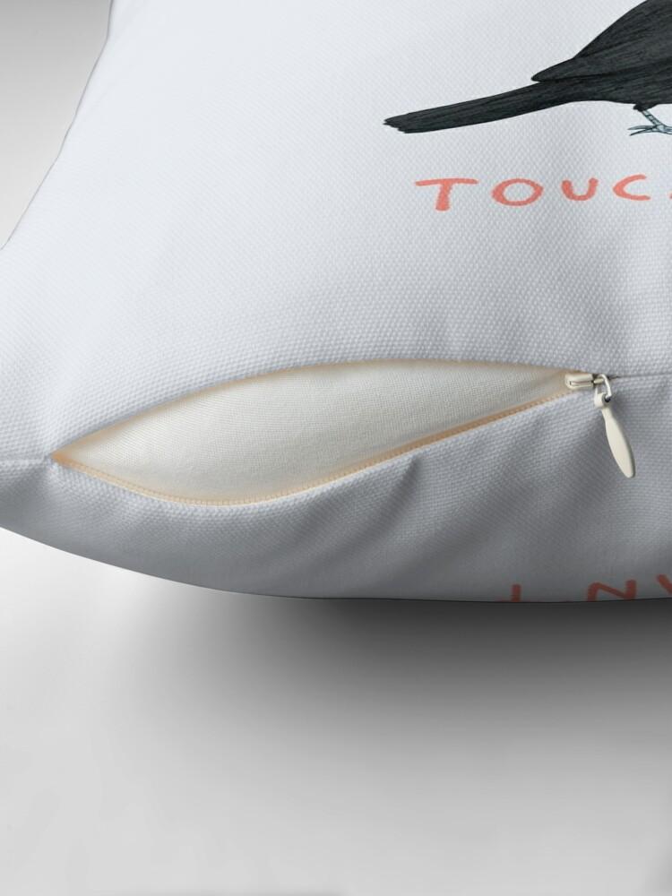 Alternate view of Toucan Toucan't Throw Pillow