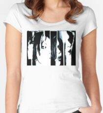 Love Barcode Women's Fitted Scoop T-Shirt