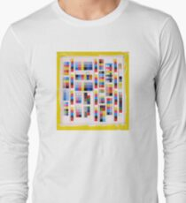 Color Codes Collage Long Sleeve T-Shirt