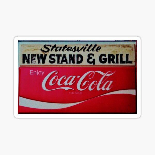 Statesville Newsstand Sticker