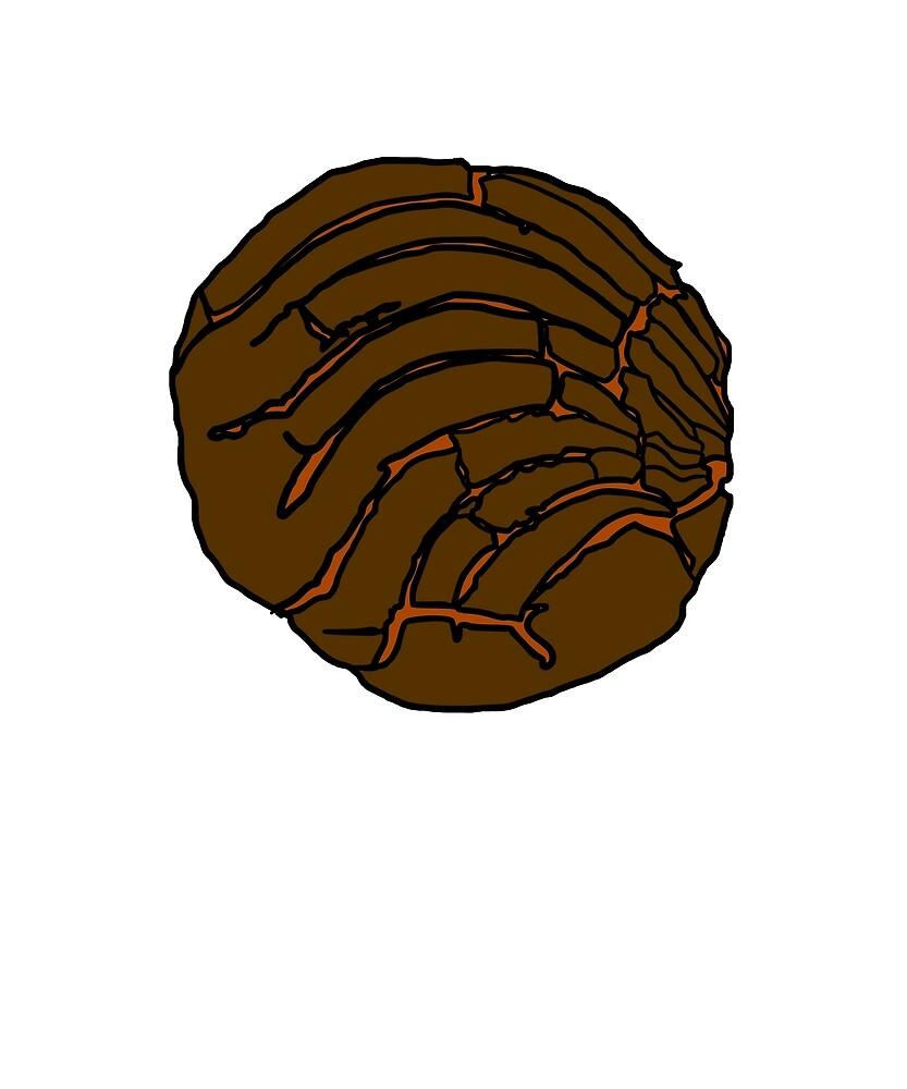 Clipart Concha Bread Wwwtopsimagescom