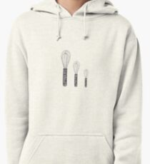 Biggie, mini, and min-er whisk  Pullover Hoodie