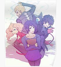 Let's Save Yusuke! Persona 5 design Poster